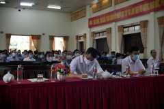 4. Các đại biểu chăm chú theo dõi nội dung sự kiện/ Participants attentively follow the content of the event